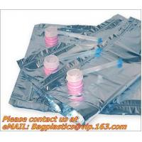 China plastic valv bags, wine carriers, juice beverage bags, drink ice bags, wine gift, portable factory