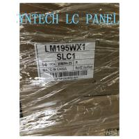 Buy cheap 19.5inch Monitor LCD Panel 1440*900 Brightness 250cd/m² LM195WX1-SLC1 Antiglare from Wholesalers