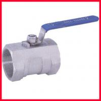 China Side Entry Threaded Ball Valve , Forged Steel Soft Seated Ball Valve on sale