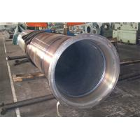 Buy cheap Thick Wall Horizontal Centrifugal Casting Pipe / High Pressure Boiler Tube  Hardness 240 - 280 HB OD 1000MM from Wholesalers