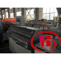 China High Performance WPC Profile Machine With T- Type Moulds CE Certification on sale