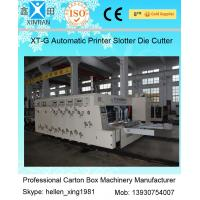 Buy cheap Smooth Running Automatic Cartoning Machine Carton Flexo Printer Slotter Die Cutter from Wholesalers
