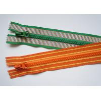 China Colourful metel pull background nylon coil zipper zipper for jacket  , coat , dress factory