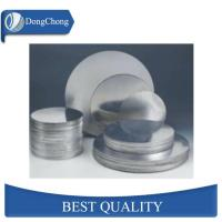 China Decorative Mill Finish Aluminum Sheet Circle ASTM Standard For Cooking Utensil factory