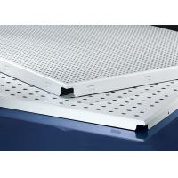 Buy cheap Clip In  Aluminum Metal Ceiling 600x600MM , Perforated Aluminum Ceiling Panels from Wholesalers