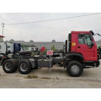 China 371HP Tractor Trailer Truck  With 12.00R20 Tires And HF9 Front Axle on sale