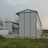 China prefab fast assembly buildings with light steel structure for warehouse factory