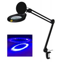 China ESD safe magnifying lamp UV ultraviolet illuminated magnifier  electrostatic prevention Anti-static factory