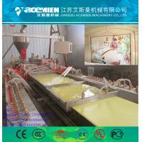China 300mm pvc wall panel making machine with turnkey solutions factory