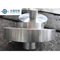 China C45 Carbon Steel Hot Rolled  / Hot Forged Ring Normalizing for Gears factory