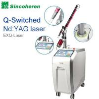 Buy cheap Q - Switched Pigmentation Removal Machine 1064nm / 532nm Wavelength 1 - 5HZ from wholesalers