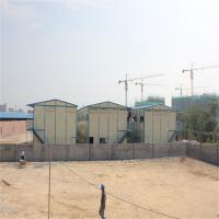 China trasitional prefabricated tiny house use for 15 years for students dormitory factory