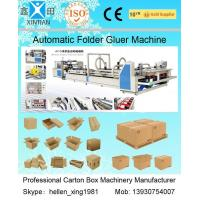 Buy cheap High Speed Carton Automatic Folder Gluer Machine QF Series 140 Pieces / Min from Wholesalers