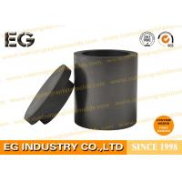 Buy cheap 2 OZ Carbon Graphite Crucible For Melting Steel Three Segment High Temp Resistance from Wholesalers