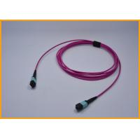 Buy cheap 3.0mm 8 Cores MPO Fiber Optic Cable For Telecommunication Networks from Wholesalers