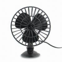 China Car Fan with 4-inch Sorbed Base, Made of PP factory