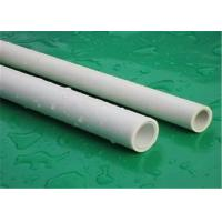 Buy cheap Intensive Plumbing Ppr Pipe For Hot Water Custom Color High Temperature Resistance from Wholesalers