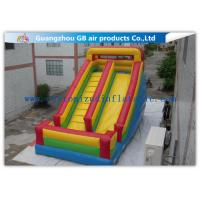 China Classics Inflatable Water Slides For Big Kids , Moonwalk Water Slide For Sports Jumping factory