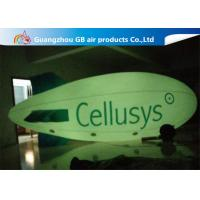 China Commercial Inflatable Helium Balloons , Giant Helium Blimp With LED Light factory