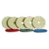 Buy cheap High Precision Angle Grinder Polishing Pad With Straight Or Curved Slots Face from Wholesalers