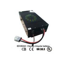 China Eco Friendly  60V 60Ah Lithium Ion Car Battery With Smart BMS And Fast Charge factory