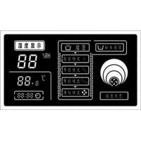 China Humidity Controller With black LCD Display factory