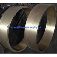 China Custom Forged And Rolled Copper Rings / Metal Ring Rolling Forging factory