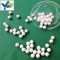 China High purity white zirconia ceramic grinding ball used in mill machine factory