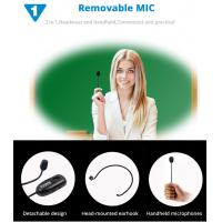 Buy cheap Stage speaker,Multimedia Device,voice amplification speakers 2.4g wireless control digital microphone megaphone headset from Wholesalers