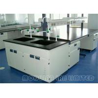 Buy cheap All Steel Structure Dental Laboratory Work Benches With Reagent shelf from Wholesalers