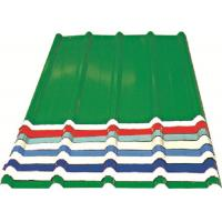 Buy cheap Corrugated Metal Roofing Sheets , Recyclable Steel Sheets For Roofing from Wholesalers