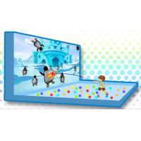 China Strong Compatibility Interactive Projector Games Penguin X-ball Theme factory