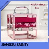 China SACMC053 light weight easy to carry clear cosmetic case on sale