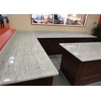 China Gray White Indian Granite Kitchen Counter Tops , Household Granite Kitchen Worktops on sale