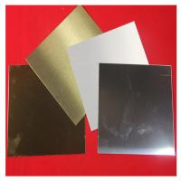 China 1050 H24 Anodized Aluminium Alloy Plate Mill Surface For Car License Plate factory