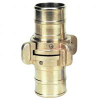 2 Inch - 4 Inch Fire Hose Fittings Couplings , Male / Female Fire Hose Thread Adapters