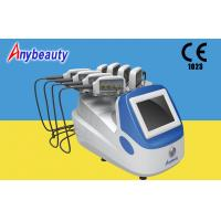 Buy cheap Portable Body Lipo Laser Slimming Machine With 8 Handpieces For Fat Removal from Wholesalers