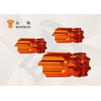China Wearing Resistance Down The Hole Hammer Bits , Oil Well Drill Bit Custom Design factory