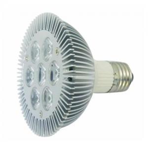 Buy cheap 7x1W high power LED spotlight/ downlight with E27 base and Machning housing Aluminum heatsink from Wholesalers
