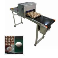 Continuous Eggs Automatic Batch Coding Machine With 0mm - 5mm Printing Distance