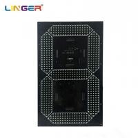 China Digital Board Seven Segment Digit With 24 Inch Height For Outdoor Clock factory