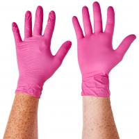 China S M L Xl Disposable Medical Gloves For Food Industry , Home Nursing factory