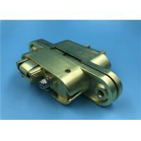 China Satin Brass Heavy Duty Invisible Door Hinges / Left Open SOSS Invisible Hinges 208 factory