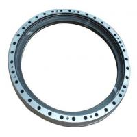 China Metal Slewing Bearing , Flanged Type Slew Ring Bearing With None Gear on sale