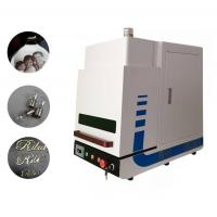 Buy cheap Air Cooling Fiber Laser Marking Machine Environmental 2 Years Warranty For Industrial from Wholesalers