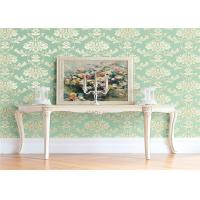 Buy cheap High End Flower Feature Wall Wallpaper Fireproof With European Style from Wholesalers