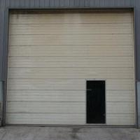China Garage Door, Made of Steel, with Automatic Lighting factory
