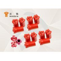 China Thermal Borehole Drill Bit , Top Hammer Drill Bits Abrasion Resistance factory