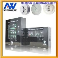 China 2 wires conventional 220V 4 zone fire alarm panel on sale