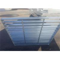 Buy cheap Custom Steel Grate Mesh ,  Hot Galvanized Industrial Catwalk Steel Grating  For Car Washing from Wholesalers